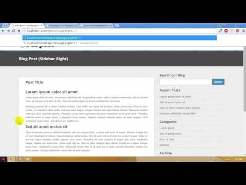 31 – Student Portal in PHP/MySQL (Pashto)