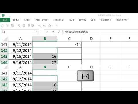 Excel Magic Trick 1077: Floating Cell In Excel? Watch Window to See Formula Anywhere in Workbook