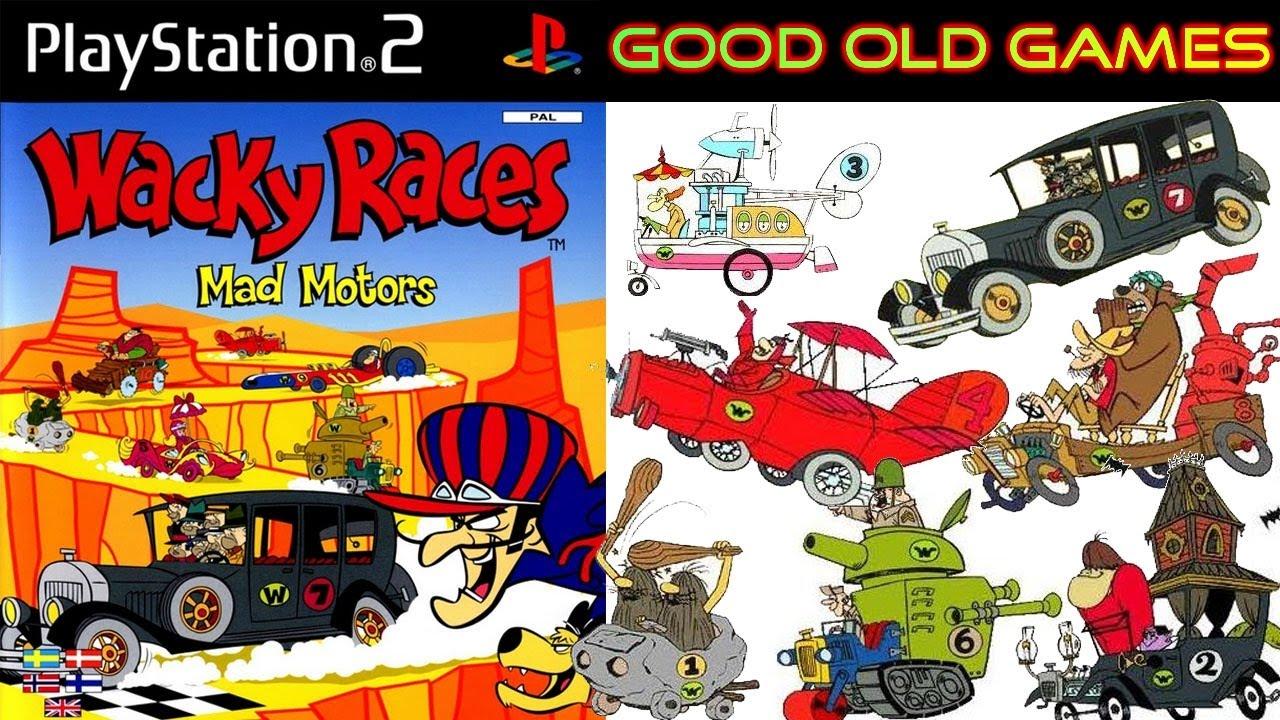 Characters Wacky Races Wacky Races Mad Motors