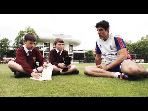 Kids Interview Alastair Cook