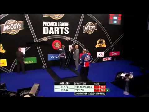 van Barneveld v Taylor | 1/3 | SEMI FINAL | Premier League Darts 2013
