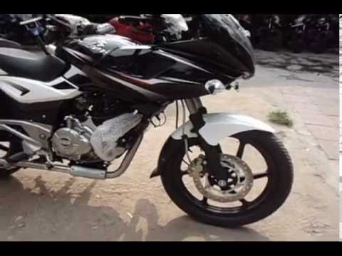 Bajaj Pulsar 220 F 2014 Model Walk Around (dual Tone Paint Job And New Graphics) video