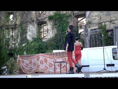 Adrien Moulet Et Adriana sa danseuse