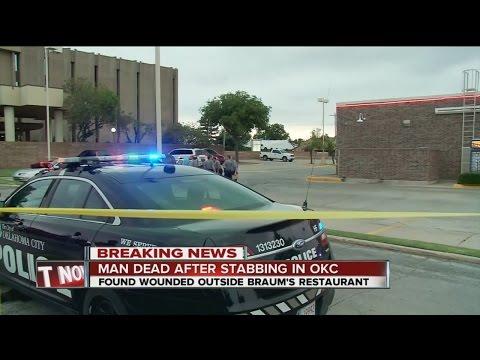 Deadly stabbing at Oklahoma City restaurant