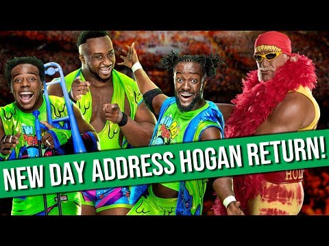 New Day Issue Statement Regarding Hulk Hogan | CM Punk and AJ Lee Cast In Horror Movie