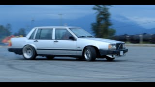 CAN YOU DRIFT AN AUTOMATIC OPEN DIFF VOLVO 740?