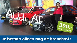De Audi A1 direct leverbaar bij Yourlease
