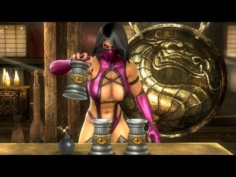 Mortal Kombat Komplete Test Your Sight Wins & Failure video