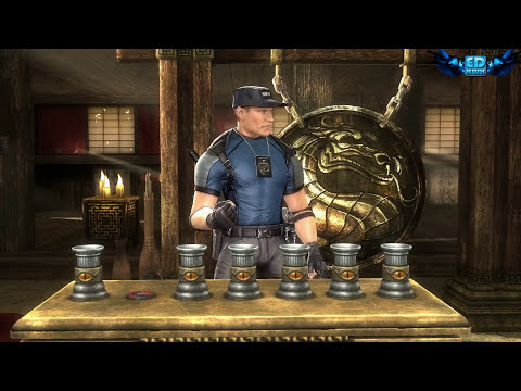 Mortal Kombat Komplete Test Your Sight Wins & Failure