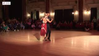 2016 Patricia and Matteo dance to Flor de Montserrat at Cheltenham International Tango Festival