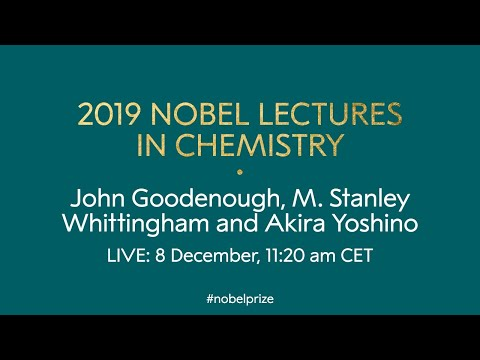 2019 Nobel Lectures in Chemistry