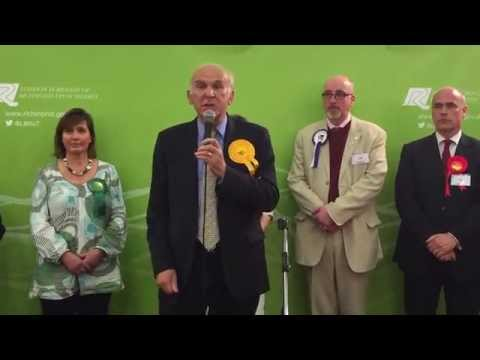 UK elects 2015: Vince Cable loses seat to Tories after 18 years