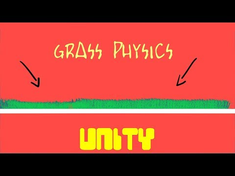 Finally a GOOD 2D grass physics tutorial in unity!!