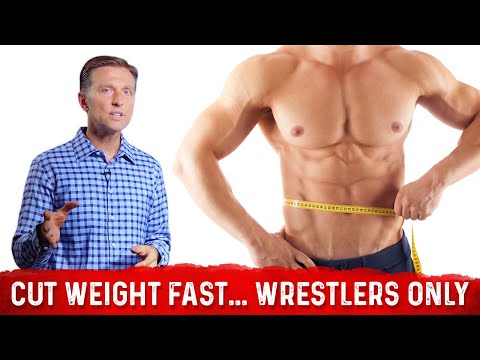 How to Cut Weight Fast...but Healthily: WRESTLERS ONLY
