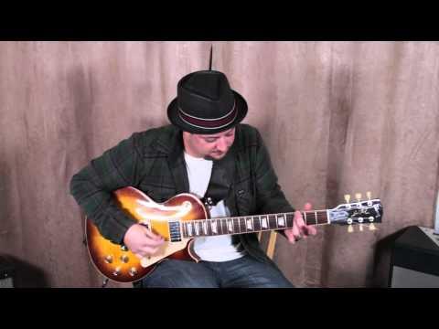 Blues Jam Track To Practice Licks - C Minor Blues Progression For Jamming