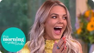 Olly Murs Pulls His Trousers Down in Front of Louisa Johnson! | This Morning