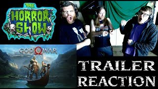 """God of War"" 2018 Story Trailer #2 Reaction - The Horror Show"