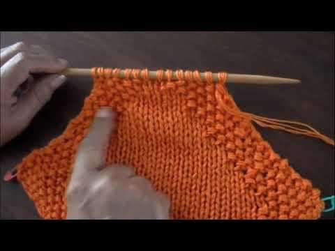 Dos agujas: manta o colchita para bebés (Parte 2)