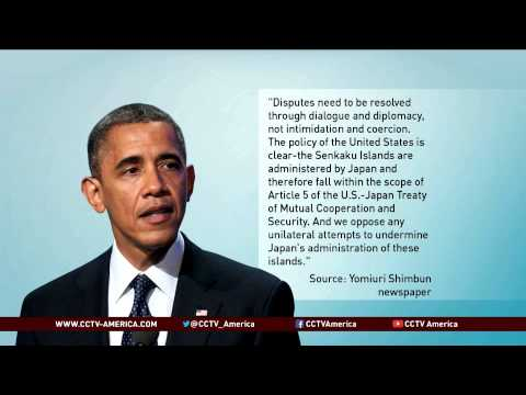 Obama: U.S.-Japan Treaty Applies to Disputed Islands