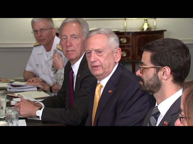 Reporter asks Mattis why Trump called Kim Jong Un 'rocket man'