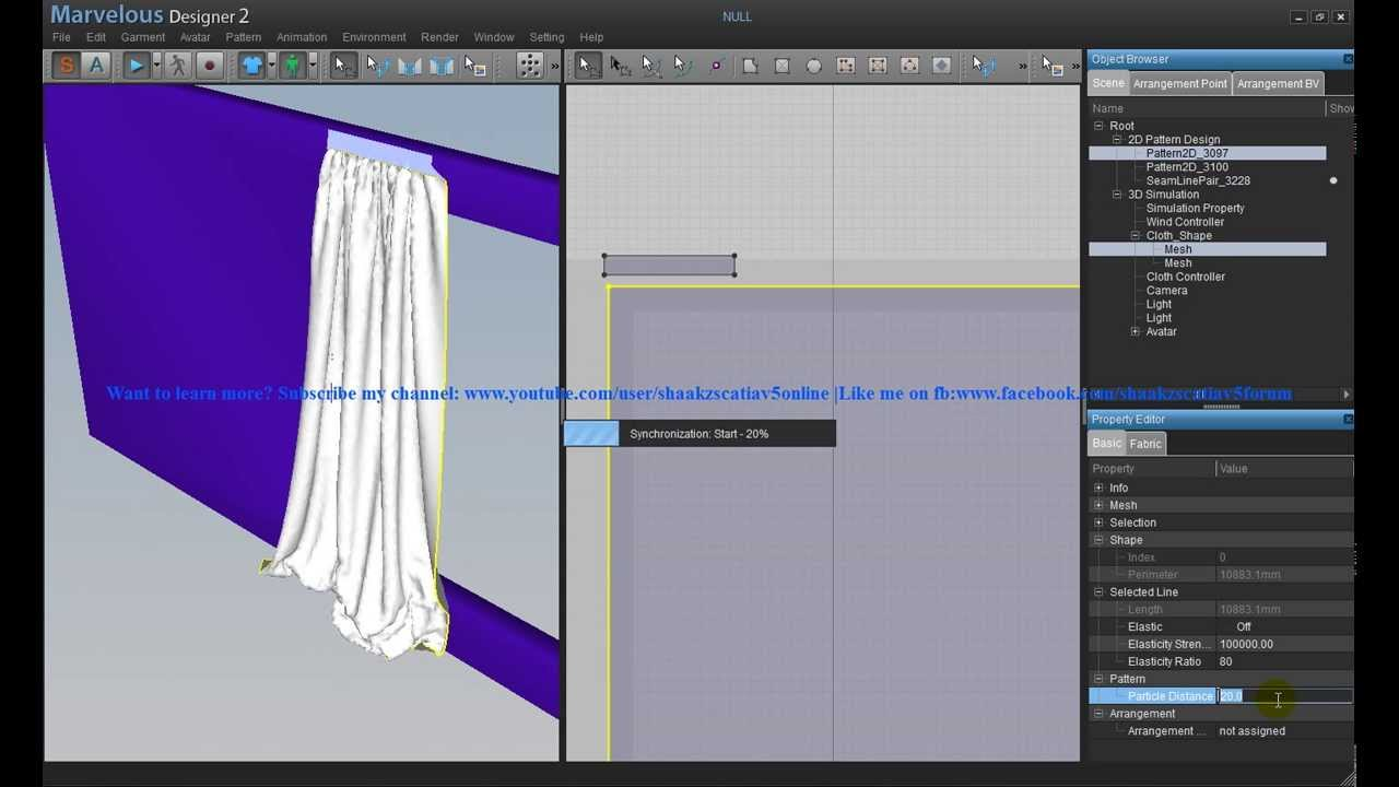 Mastering marvelous designer2 with 3ds max how to create for Curtain creator software