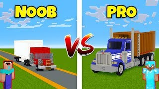 Minecraft NOOB vs. PRO: TRUCK in Minecraft! AVM SHORTS Animation