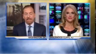 The Beautiful Kellyanne Conway Vs. Cuck Todd FULL Interview [01/08/2017]