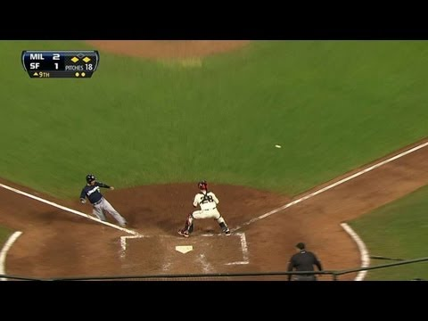 MIL@SF: Brewers add insurance run on Lucroy's sac fly