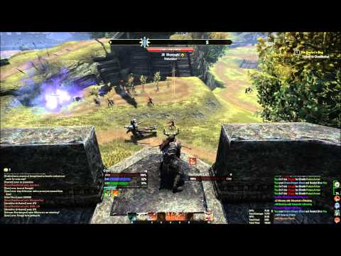 ESO Dragonknight PvP - Outnumbered