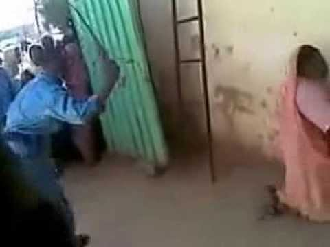 Video of Sudanese woman been flogged