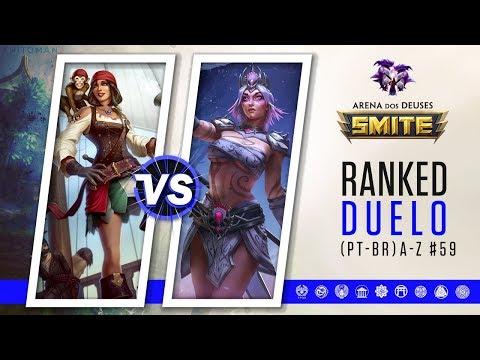 Neith vs The Morrigan | Ranked Duelo A-Z #59 | Smite Season 5 (PT-BR)