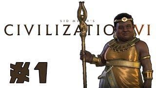 Let's Play: Civilization 6 - Nubia - Deity! - Part 1