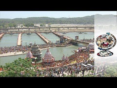 Watch the Kumbh Mela Bathing Festival in Haridwar