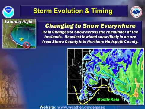 Christmas Weekend Winter Weather Update - Dec 25th