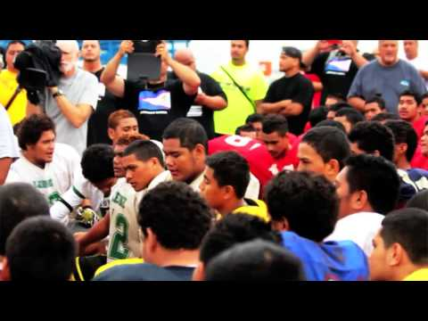 Conclusion of the 2013 Troy Polamalu Football Camp in American Samoa