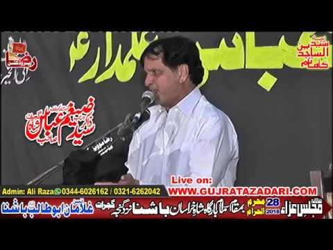 Zakir Syed Zagham Abbas Shah | 28 Maharram 2018