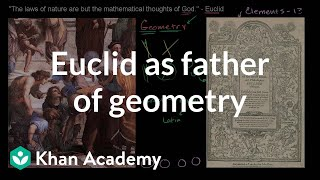 Euclid as the Father of Geometry