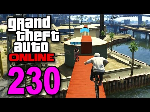 Grand Theft Auto 5 Multiplayer - Part 230 - BMX Bike Race (GTA Online Let's Play)