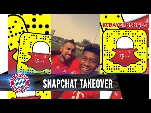David Alaba Snapchat takeover