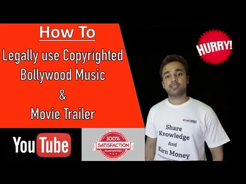How to Legally use Bollywood Music, Movie Trailer on YouTube Video - YouTube SEO