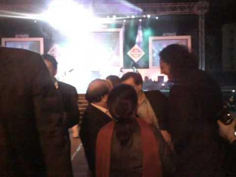 Edge Zarella and Som Mittal at NASSCOM 2009