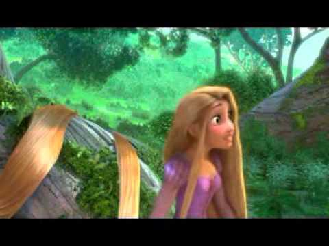 Funny Tangled Scene Rapunzel video