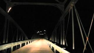 Old Richardsville Road Haunted Bridge  Bowling Green KY 2015