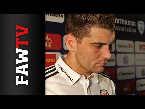 Sam Vokes Israel v Wales post-match reaction