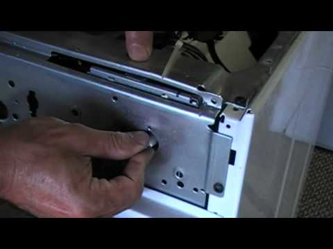 How to Replace Wash Machine Switch Timer - Frigidaire Clothing Washer Part One