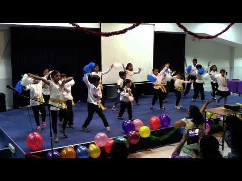 Tamil Methodist Church - Sunday School Year End Concert, Children Dance