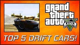 GTA 5 Online | Top 5 Drifting Vehicles (No cheats/mods)