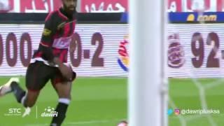هدف الرائد الأول ضد الاتفاق (اسماعيل بانغورا) في الجولة 7 من دوري جميل