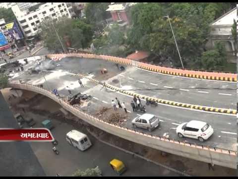 Sandesh News - people inauguarate bridge themselves in ahmedabad
