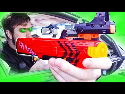 Nerf Drive By Challenge